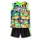 Teenage Mutant Ninja Turtles Toddler Boys' 2-Piece Set 2T - Black