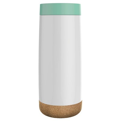Ello Cole 16oz Stainless Steel Travel Mug - Sunbleached Turquoise