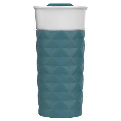 Ello Ogden 16oz Ceramic Travel Mug - Avalon Sea