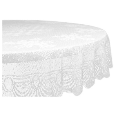 Lace Floral Polyester Tablecloth - 54 X 72""