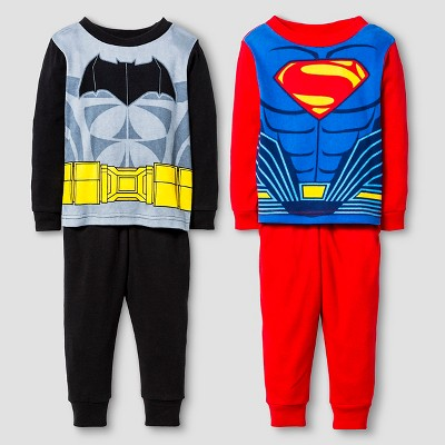 Infant Boys' Batman VS. Superman Pajama Set-Multi