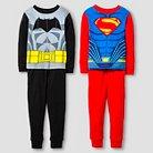Toddler Boys' Batman Vs. Superman Pajama Set-Multi