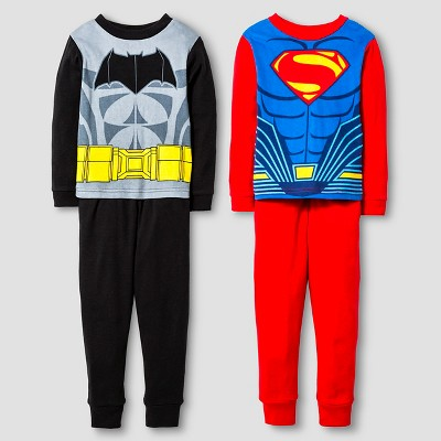 Pajama Sets Batman v Superman Multi-colored 4T