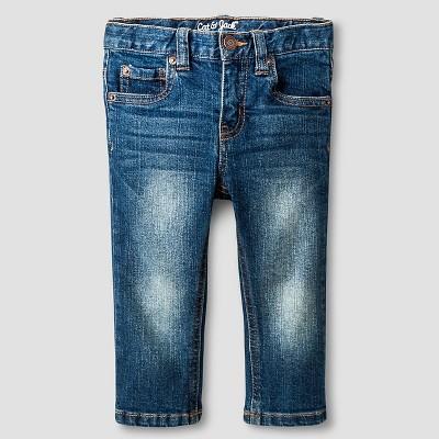 Baby Boys' Skinny Jeans Baby Cat & Jack™ - Medium Wash 12 M