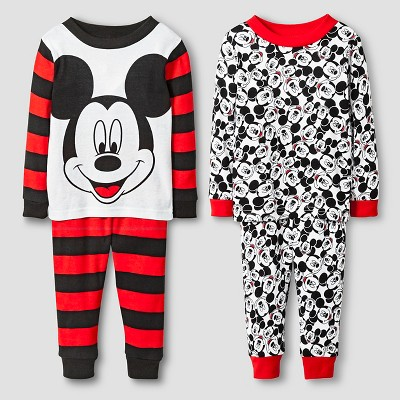 Pajama Sets Mickey Mouse Red 18 M