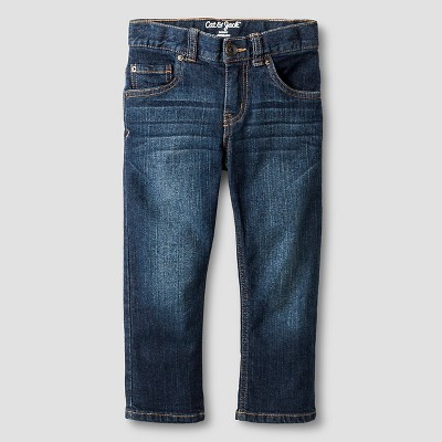 Toddler Boys' Skinny Jeans Cat & Jack™ - Dark Wash 3T