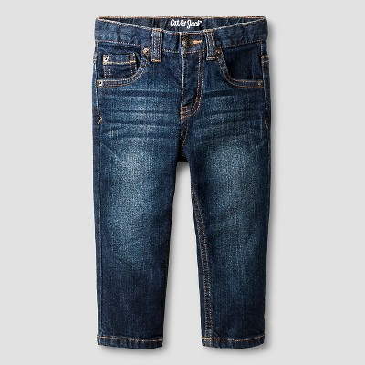 Baby Boys' Skinny Jeans Baby Cat & Jack™ - Dark Wash 12 M