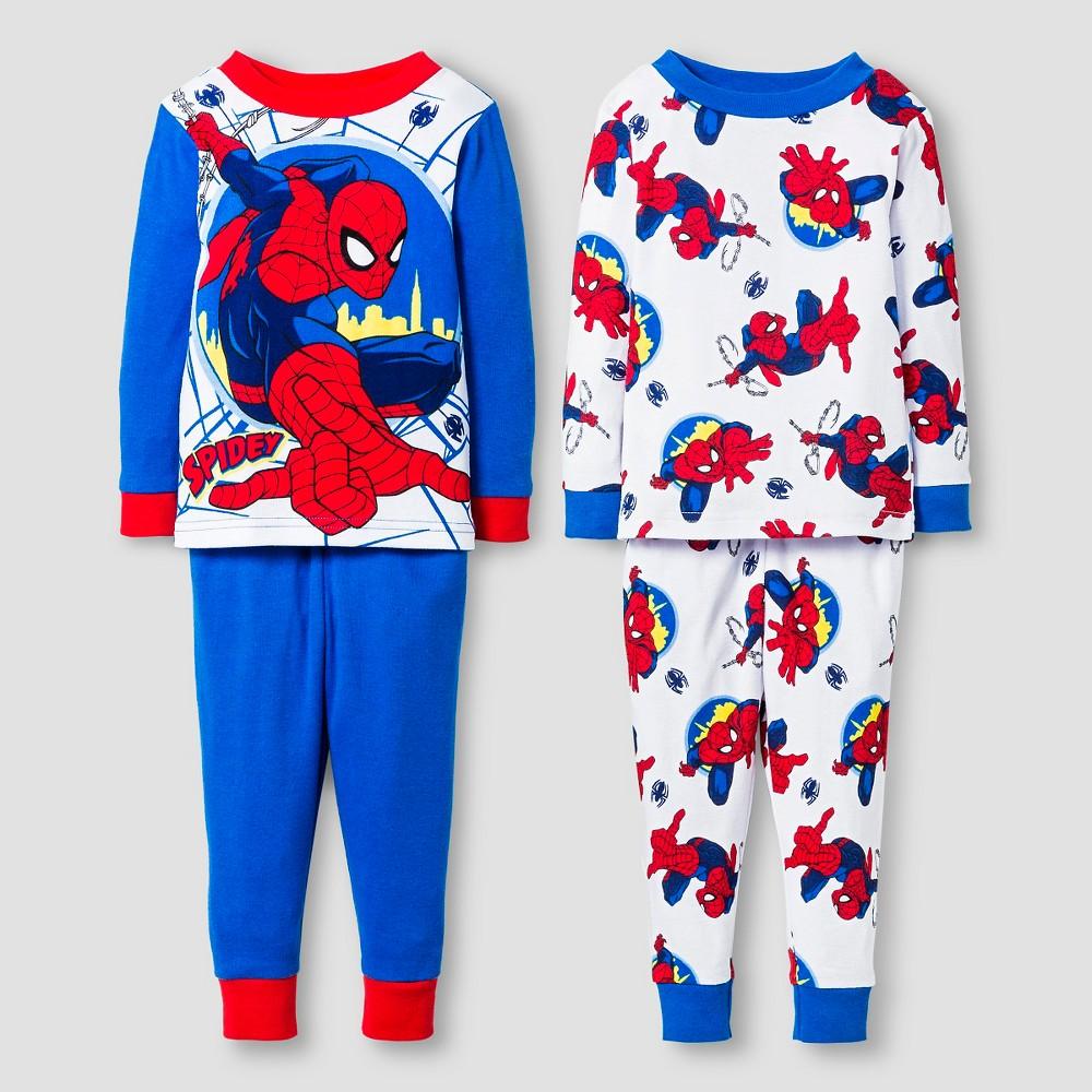 Pajama Sets Spiderman Blue 12 Months, Infant Boy's