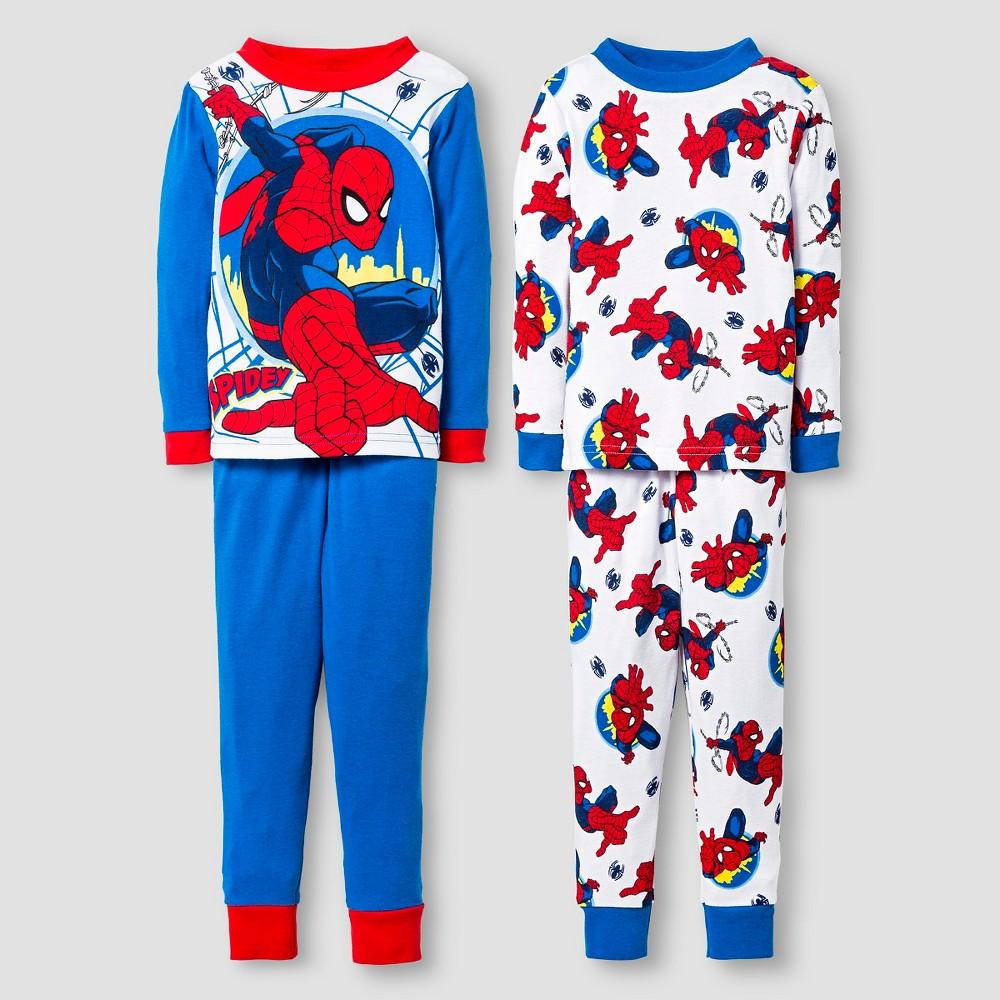 Pajama Sets Spiderman Blue 3T, Toddler Boy's