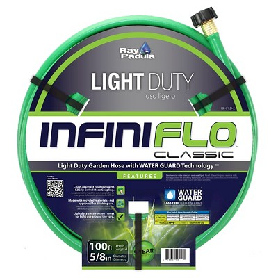 Ray Padula InfiniFlo Classic 5/8 in. x 100 ft. Light-Duty Garden Hose