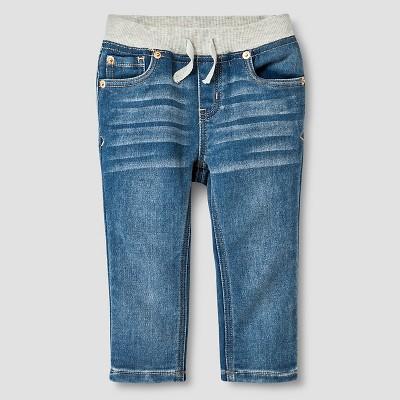 Baby Boys' Soft Jeans Baby Cat & Jack™ - Medium Wash 12 M