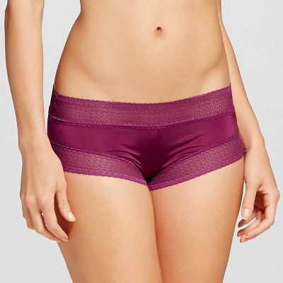 Women's Micro Lace Hipster Elegant Cherry M - Gilligan & O'Malley™