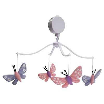 Bedtime Originals Musical Mobile - Butterfly Meadow