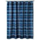 """Ryder Shower Curtain (72""""x72"""") Blue - Sheringham Road"""