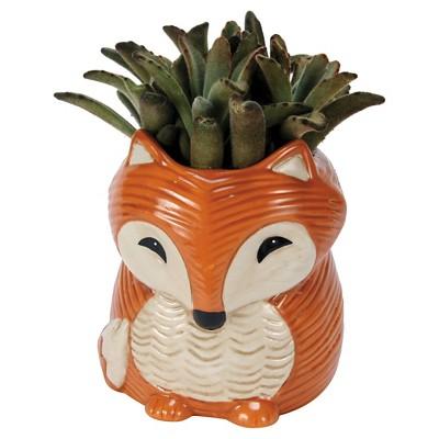 Orange Fox Planters