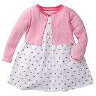 Gerber® Baby Girls' Watermelon Dress Set - Pink 12M