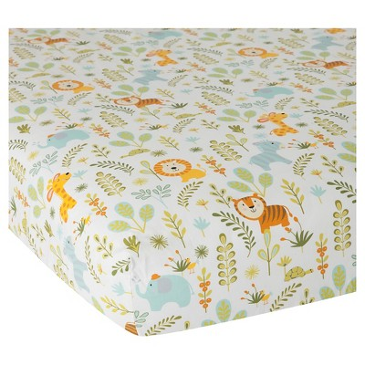 Happi by Dena Crib Sheet – Happi Jungle