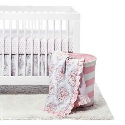 Happi by Dena 4-Piece Crib Bedding Set - Charlotte
