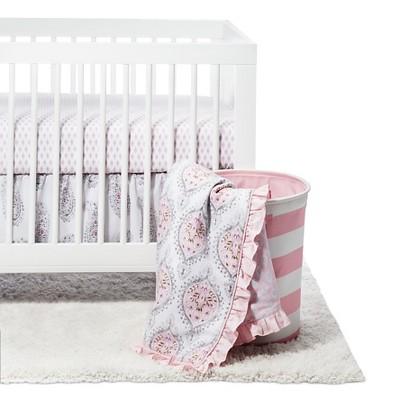 Happi by Dena 4-Piece Crib Bedding Set - Charlotte