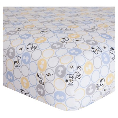 Peanuts Crib Sheet - My Little Snoopy