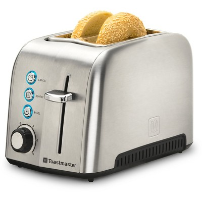 Toastmaster 2 Slice Stainless Steel Toaster