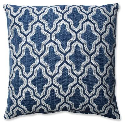 "Pillow Perfect Mosaic Eclipse Throw Pillow - Blue (18x18"")"