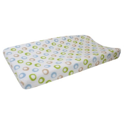 Lambs & Ivy Changing Pad Cover - Jungle Buddies