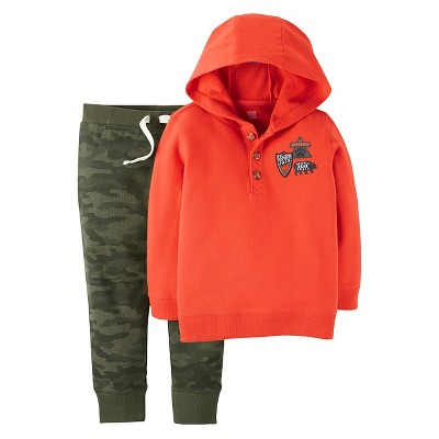 Just One You™ Made by Carter's® Boys' Set Orange/Camo - 2T