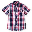 Maui Sands Boys' Short Sleeved Woven Shirt Red XS