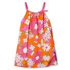 Happy by Pink Chicken Toddler Girls' Strap Dress - Citrus Orange 2T