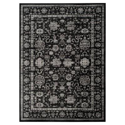 Safavieh Maxine Vintage Area Rug - Black / Light Grey (9' X 12')