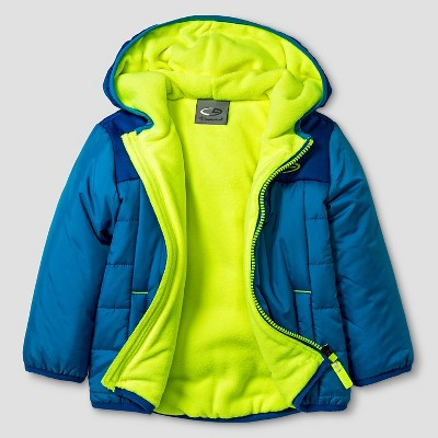 Baby Boys' Puffer Jacket - Blue 18M