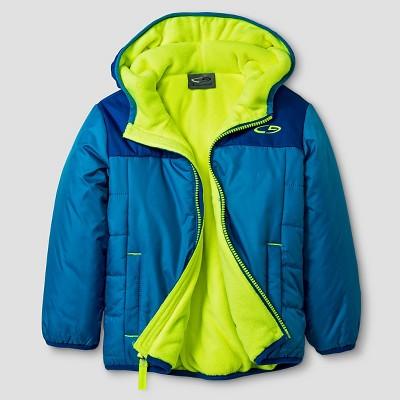 Toddler Boys' Puffer Jacket - Blue 3T