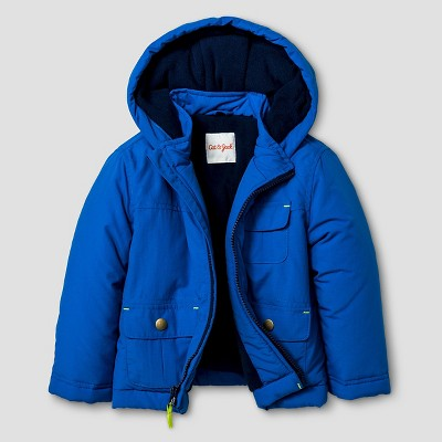 Baby Boys' Ripstop Jacket Baby Cat & Jack™ - Blue 12M