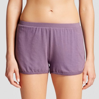 Women's Pajamas Solid Shorts Plum Wink M - Gilligan & O'Malley®