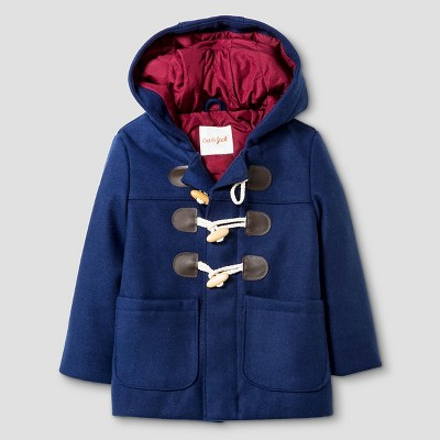 Baby Boys' Toggle Coat Baby Cat & Jack™ - Navy 12M