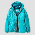 Girls' All Weather Jacket Aqua Blue - C9 Champion®