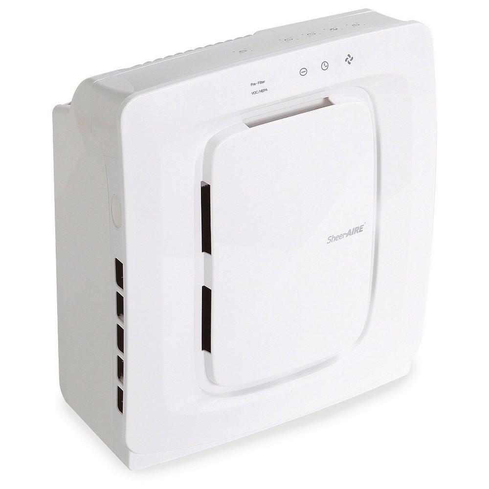 SheerAIRE Quiet Small Room Hepa Air Purifier, White