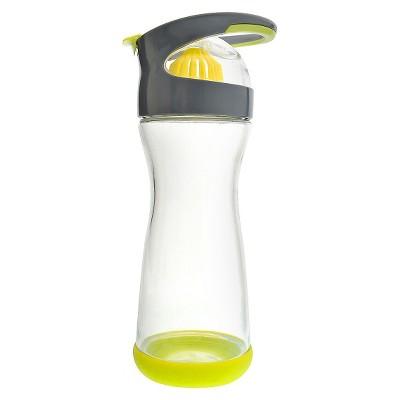 Full Circle Wherever Water Lemon 20oz. Glass Beverage Bottle - Lime Green