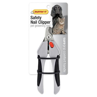 Ruffin'it   Soft Grip Safety Nail Clipper For Dogs & Cats