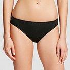 Women's Bikini Bottom - Black - L - Mossimo™