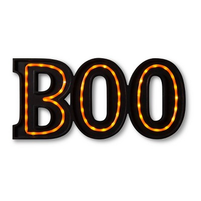 "Halloween ""Boo"" Marquee Sign"