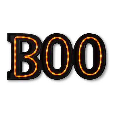 "Halloween ""Boo"" Marquee Sign"