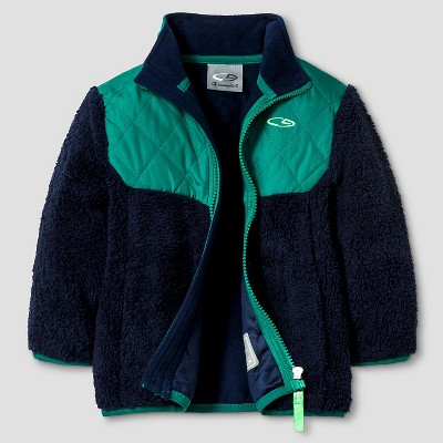 Baby Boys' Puffer Jacket - Blue 12M
