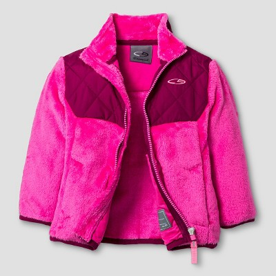 Infant Girls' Fleece Jackets  - Pink