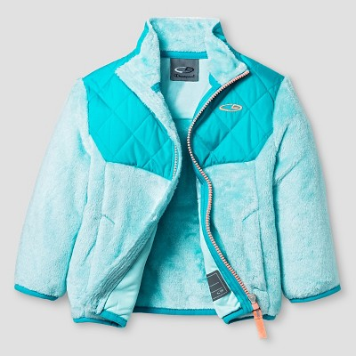 Infant Girls' Fleece Jackets  - Teal
