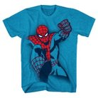 Boys' Marvel Spiderman Graphic T-Shirt - Turquoise S