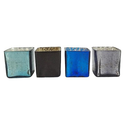 "Home Port Midnight Votives set of 4 (2.5"")"