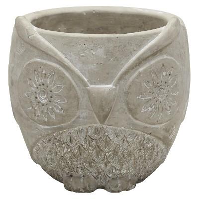 Foreside Home & Garden Owl Flower Pot - Large