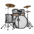 Mapex Voyager Rock 5-Piece Drum Set with Cymbals - Crystal Sparkle